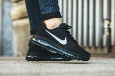 Branded Nike Airmax 2017 Black Silver Sports breathe shoes For Men & Boy's