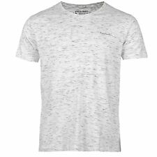 T-Shirt Col V Homme PIERRE CARDIN (Du S au XXL) (Taille Grand) Neuf