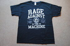 RAGE AGAINST THE MACHINE COLLEGE VARSITY T SHIRT NEW OFFICIAL RATM KILLING NAME