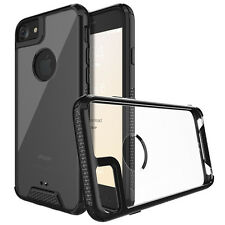 Transparent Clear Acrylic Hybrid Armor Bumper Case For iPhone 6 / 6s/ 7 & 7 Plus