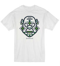 Gorilla Spirit Animal Ape Monkey Design Art Unisex Cotton Tshirt T-Shirt