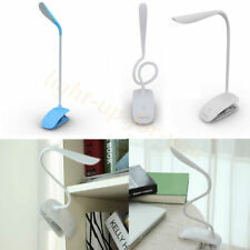 Flexible LED USB Charge Reading Light Clip-on Beside Bed Table Desk Lamp UKSTOCK