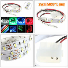 25CM SMD 5630 Non- Waterproof LED Flexible Strip Light PC Computer Case Adhesive
