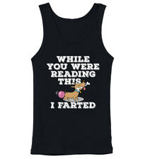 While You Were Reading This I Farted Funny Dog K9 Womens Tank Top Vest