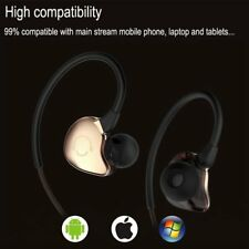 Metal Stereo Bluetooth Sweatproof Headset Headphones Sport for iPhone 7 Samsung