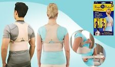 Babaka Posture Correction Back Vest Belt Neck Shoulder Spine Support Brace Pain