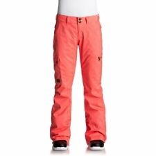 DC SHOES W' RECRUIT PANT FIERY CORAL PANTALONE DONNA SNOWBOARD FW 2018  NEW XS S