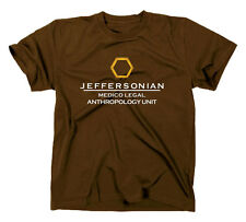 Bones Die knochenjägerin Camiseta, Camisa de la Fan, JEFFERSONIAN LOGO Fan Tee