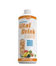 Best Body Nutrition Low Carb Vital Drink, 1 Liter