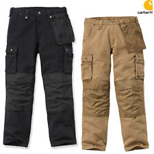 CARHARTT pantaloni uomo WASHED DUCK multipocket da lavoro Combat Work Pant NUOVO