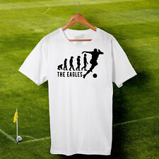 Crystal Palace Football Evolution T-shirt - The Eagles - Men's S-2XL, Cotton