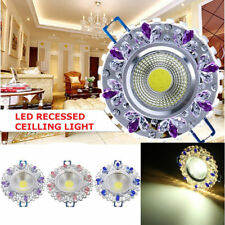 3W Bright 6 LED Recessed Ceiling Down Light Warm White 85-265V
