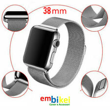 38mm Milanese Magnetico Loop Stainless Cinturino Acciaio  Apple Watch iWatch
