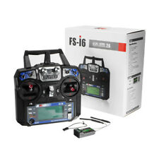0719 FlySky FS-i6 2.4G 6CH AFHDS RC Transmitter With FS-iA6B Receiver