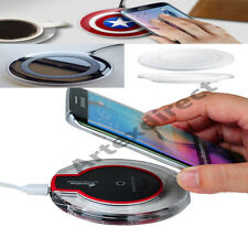 Wireless Charging Pad Qi Charger For Samsung Galaxy Note 7 S7 Edge S6 USB Cable