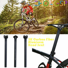 Ultralight 3K Carbon Carbon Fiber Road Bike MTB Seatpost Seat Tube Post Sport UK