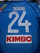 Maglia SSc NAPOLI Kappa 2018 Kombat Extra Serie A Tim Home New maillot Insigne