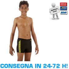 SPEEDO MONOGRAM AQUASHORTS JUNIOR Costume Nuoto Bambino Parigamba Piscina Boxer