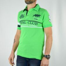 Polo Royal Club homme Geographical Norway vert