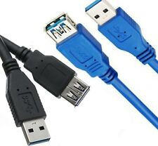 USB 3.0 Standard Male To Female Extension Cable Lead For PC Laptop 0.5M/1M/2M/3M