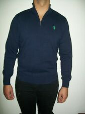 POLO RALPH LAUREN GOLF  half zip  SWEATER BRAND NEW WITH TAGS -NAVY COTTON