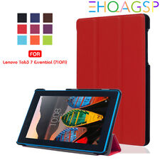 Premium PU Leather Case Cover For Lenovo Tab 3 7 Essential Tab3, Model TB3-710F