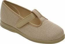 Cosyfeet Extra Roomy Steffi Womens Casual Shoe 2 Colour 6E Fitting UK Sizes