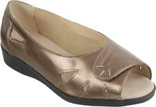 Cosyfeet Extra Roomy Keira Womens Sandals Bronze 6E Fitting UK Sizes Available