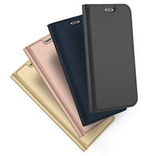 DUX DUCIS Pro Skin Series PU Leather Flip Case Cover for Apple iPhone X
