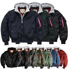 ALPHA INDUSTRIES giacca invernale uomo MA-1 D-TEC bombergiacca BOMBER S FINO A