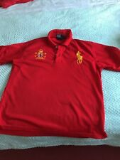 Ralph Lauren Polo t shirt Red  large size