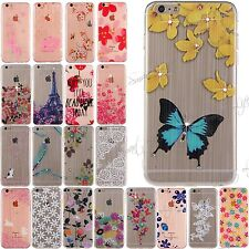 design ultra sottile trasparente DIAMANTI TPU custodia morbida per iPhone 6s,