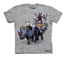 Tee shirt enfant anilaux - Vêtement T-shirt animaux - Animal parade Animal parad