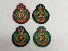 Royal Engineers - Embroidered Patches / Badges - Sew On Breast / Biker Patch