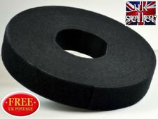 VELCRO® Brand Hook and loop ONE-WRAP® back to back Strapping 20mm in Black