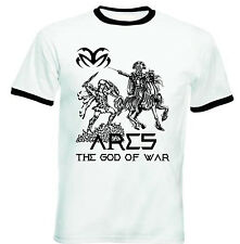 ARES THE GOD OF WAR - NEW BLACK RINGER COTTON TSHIRT