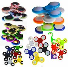 Spinner Mano Spinner EDC Pocket dita TROTTOLA ANTI STRESS ADHD Fokus colore