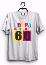 MAGLIETTA UOMO DONNA MADE IN ITALY IDEA REGALO: happy