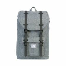 Herschel Little America Mid Classic Backpack Zaino 10020 00919 Raven Crosshatch