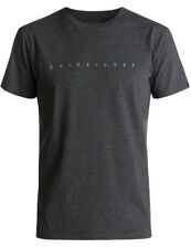 Quiksilver East Clean Turn Premium Short Sleeve T-Shirt in Charcoal Heather