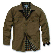 Weathered TELA Camicia Giacca Carhartt in Frontier