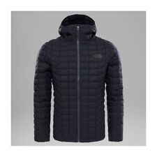THE NORTH FACE THERMOBALL HOODIE JACKET TNF BLACK MATTE PIUMINO FW 2018 GIACCA N
