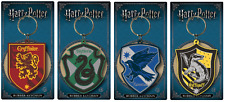 Official Harry Potter Hogwarts House Keyrings Keychain Key Ring Film Gift