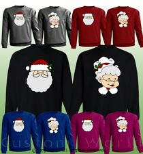 Ugly Christmas Sweater for Couples Funny Graphic Matching Sweaters Holidays