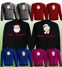 Ugly Christmas Sweater for Couples Funny Graphic Matching Sweaters Holidays Xmas