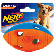 Nerf DOG GIOCO PER CANE LED RUGBY bi-colore, varie misure, NUOVO