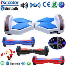 Scooter Eléctrico Patinete Self Balancing Board Monociclo Bluetooth LED Speaker