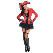 Costume Pirate Captain TGL S - L Costume da donna Carnevale Diavolo Halloween