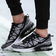 2017 Fashion Men's Sneakers Casual Sports Athletic Running Trainers Shoes Black