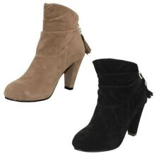 Mujer Spot On Ante Artificial Moderna Botines THE STYLE ~ K